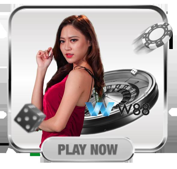 W88 casino game display